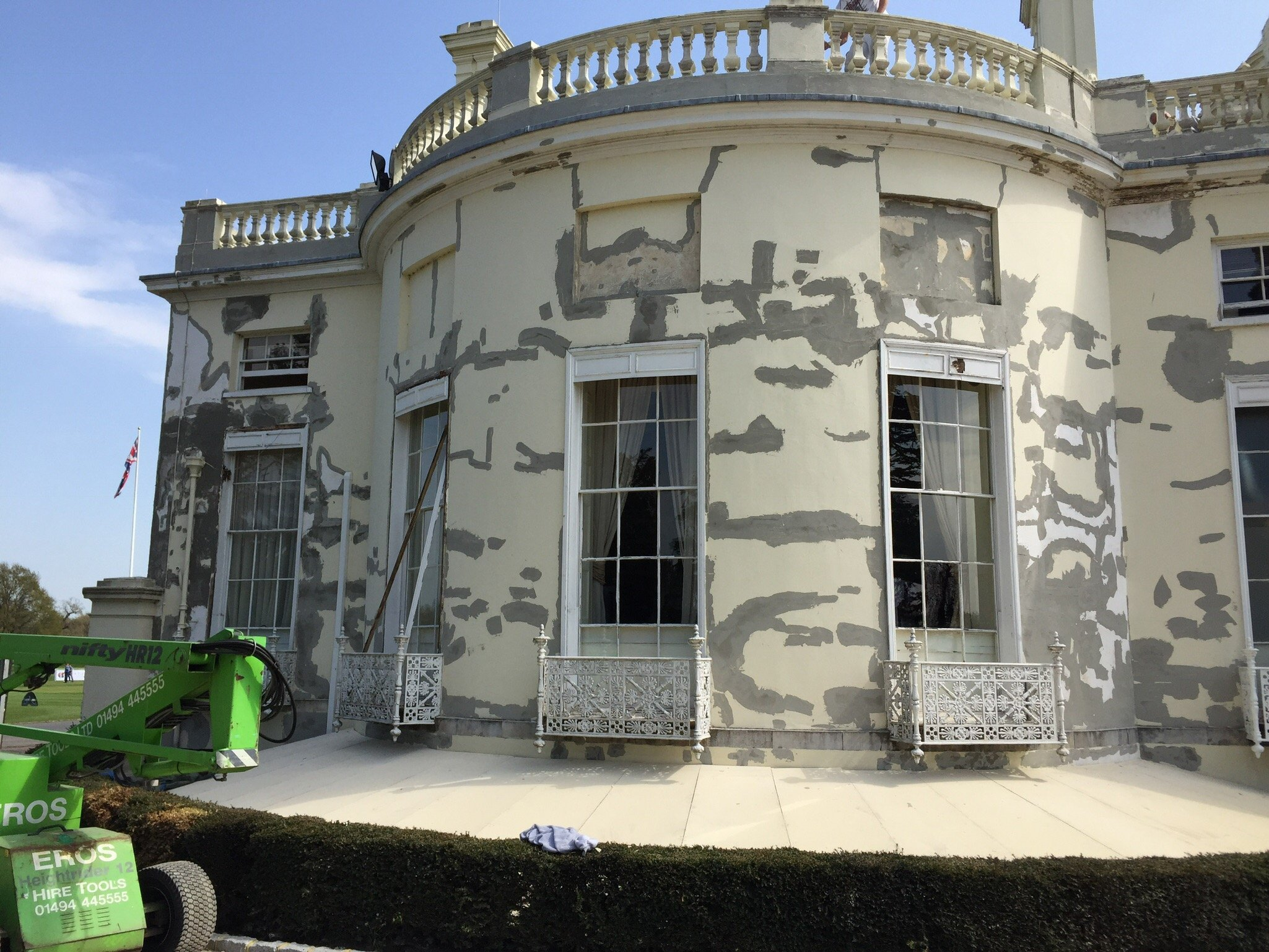 Exterior Repairing and Painting Stoke Park Hotel