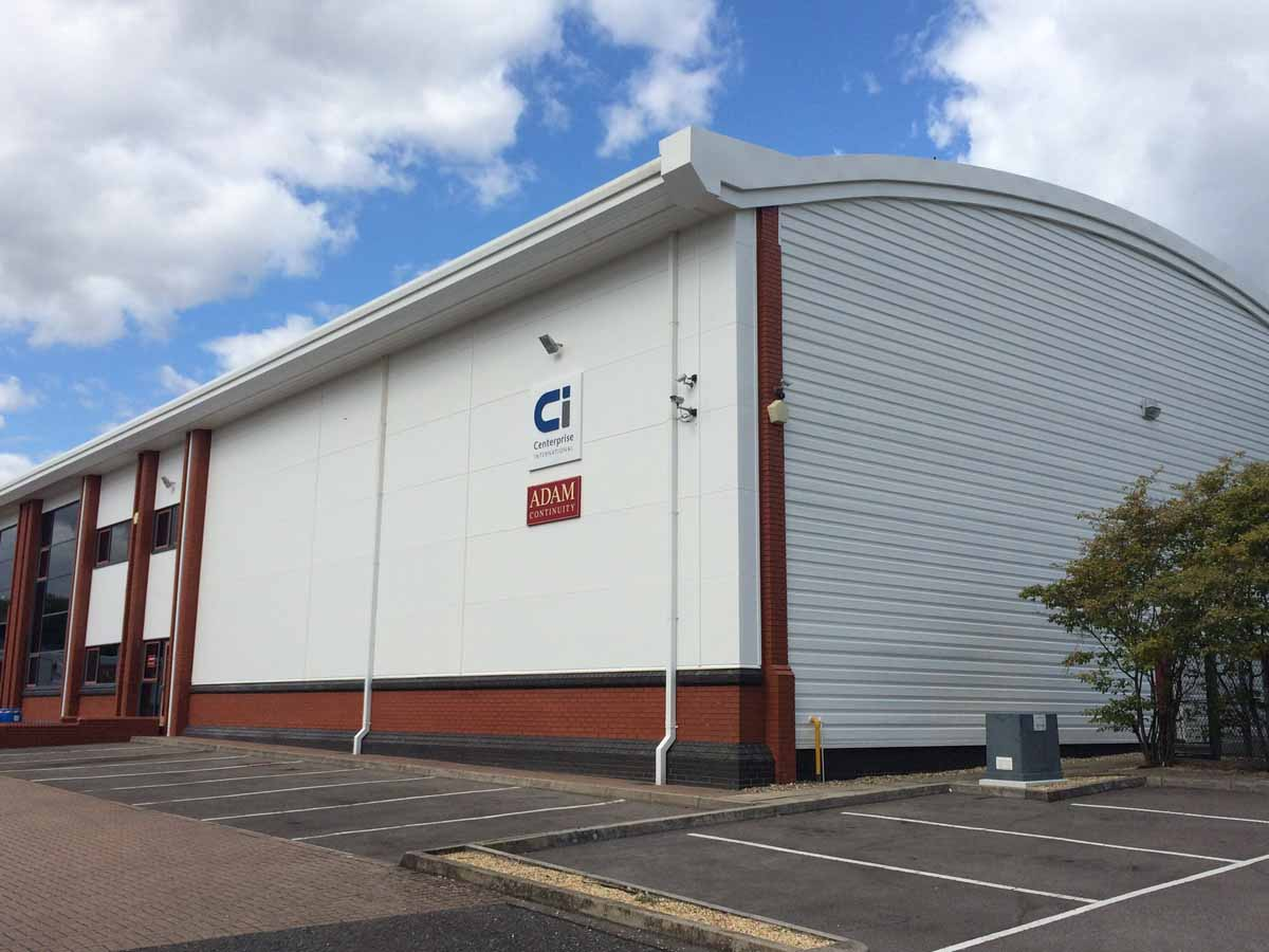 Cladding Project For A Basingstoke Unit