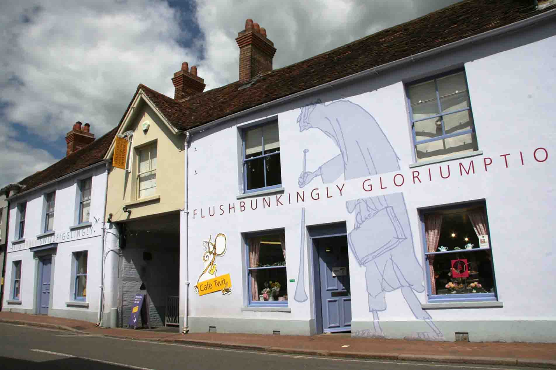 Commercial External Decoration Project at The Roald Dahl Museum